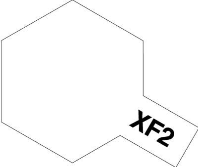 Tamiya XF2 Flat White (81702) Acrylic paint 10ml