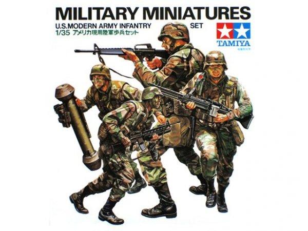 Tamiya 35133 U.S. Modern Infantry Set (1:35)
