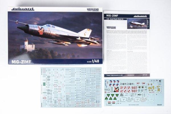 Eduard 84177 MiG-21MF 1/48