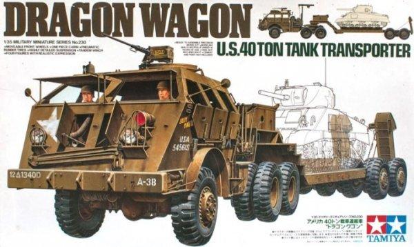 """Tamiya 35230 U.S. 40 Ton Tank Transporter """"Dragon Wagon"""" (1:35)"""