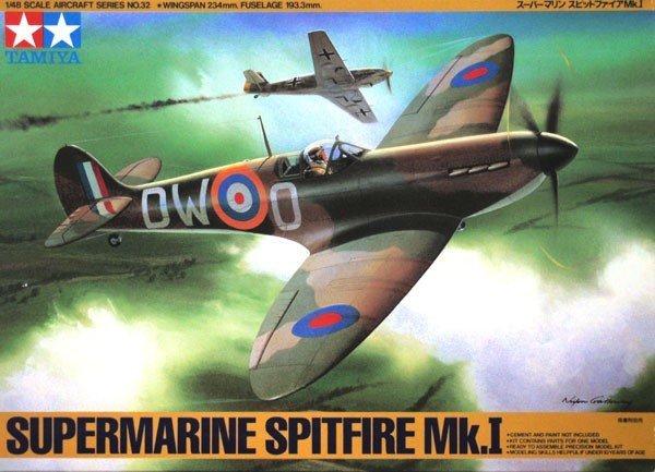 Tamiya 61032 Supermarine Spitfire Mk.I (1:48)