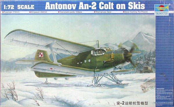 Trumpeter 01607 Antonov An-2 Colt on Skis (1:72)