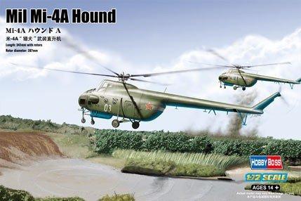 Hobby Boss 87226 Mil Mi-4A Hound A (1:72)