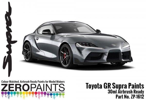 Zero Paints ZP-1612-SG Toyota GR Supra Matt Storm Grey Paint 30ml