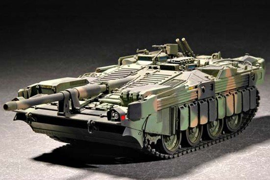 Trumpeter 07298 Swedish Strv 103C MBT (1:72)