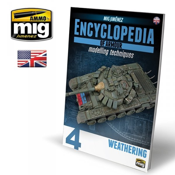 AMMO of Mig Jimenez 6153 ENCYCLOPEDIA OF ARMOUR MODELLING TECHNIQUES VOL. 4 - WEATHERING (English)