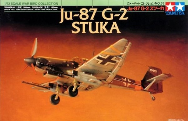 Tamiya 60735 JU-87 G-2 Stuka (1:72)
