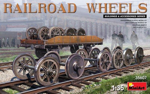 MiniArt 35607 Railroad wheels 1/35