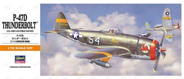 Hasegawa A8 P-47D Thunderbolt (1:72)