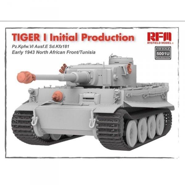 Rye Field Model 5001U Tiger 1 Initial Production Early 1943 1/35