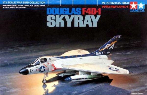 Tamiya 60741 Douglas F4D-1 Skyray (1:72)