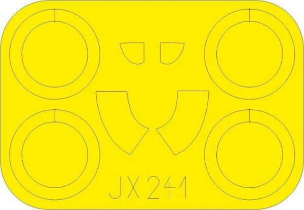 Eduard JX241 I-16 Type 10 1/32 ICM