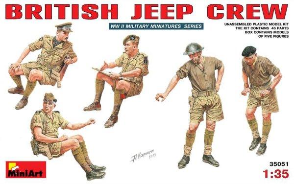 MiniArt 35051 British Jeep Crew (1:35)