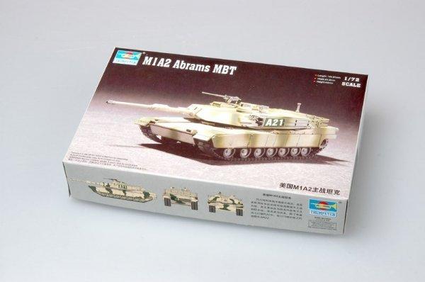 Trumpeter 07279 M1A2 Abrams MBT (1:72)