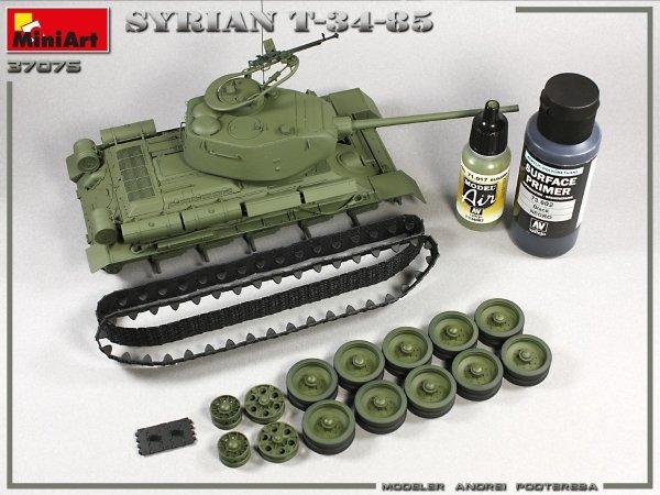 MiniArt 37075 SYRIAN T-34/85 1/35