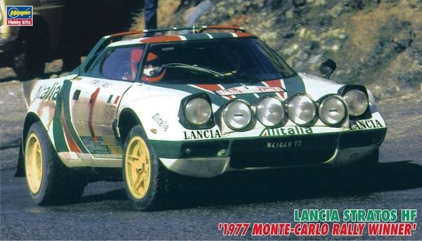 Hasegawa CR32 Lancia Stratos 1977 Monte Carlo 1/24