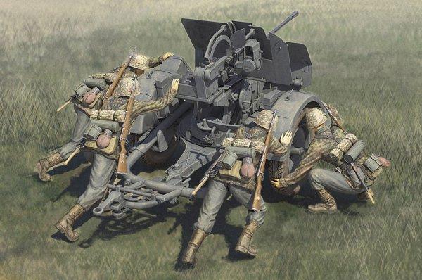 Hobby Boss 84418 German 20mm Flak 38 crews 1/35