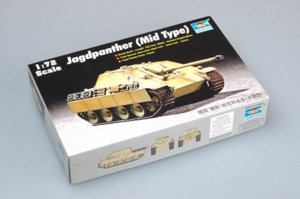 Trumpeter 07241 Jagdpanther (Mid Type) (1:72)