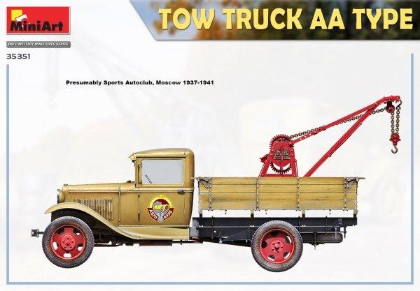 MiniArt 35351 TOW TRUCK AA TYPE 1/35