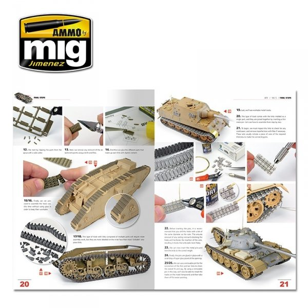 AMMO of Mig Jimenez 6154 ENCYCLOPEDIA OF ARMOUR MODELLING TECHNIQUES VOL. 5 - FINAL TOUCHES (English)