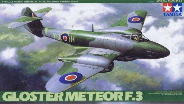 Tamiya 61083 Gloster Meteor F.3 (1:48)