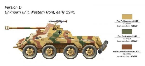 Italeri 7047 Sd. Kfz. 234/4 1/72