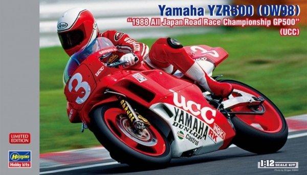 "Hasegawa 21734 Yamaha YZR500 (0W98) ""1988 All Japan Road Race Championship GP500"" (UCC) 1/24"