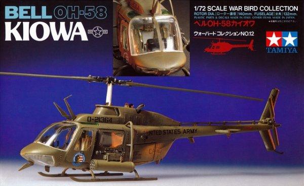 Tamiya 60712 Bell OH-58 Kiowa (1:72)