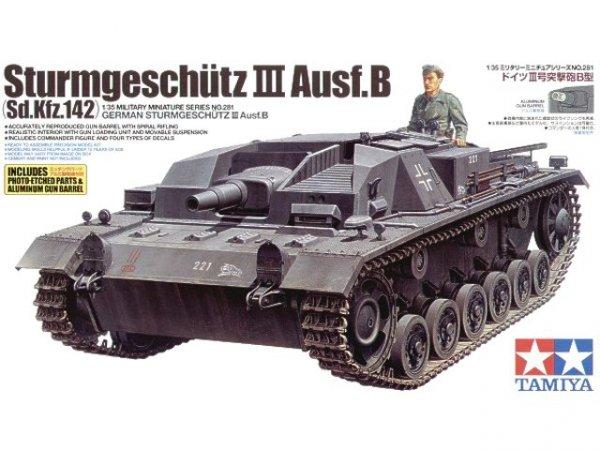 Tamiya 35281 Sturmgeschutz III Ausf.B (1:35)