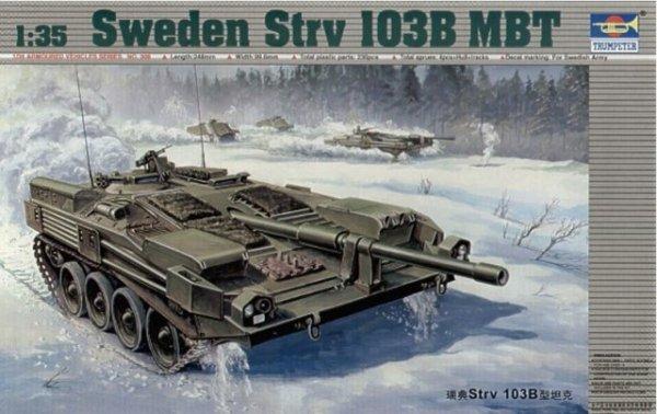 Trumpeter 00309 Sweden Strv 103B MBT (1:35)