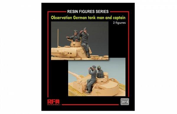 Rye Field Model 2015 Observation German Tankman and captain 1/35