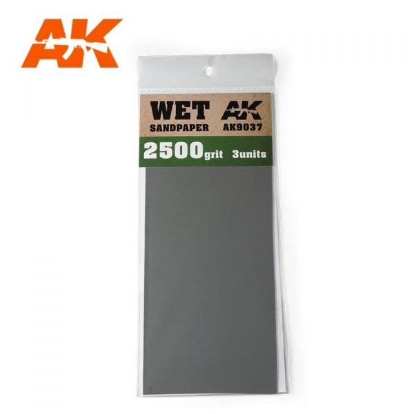 AK Interactive AK 9037 WET SANDPAPER 2500