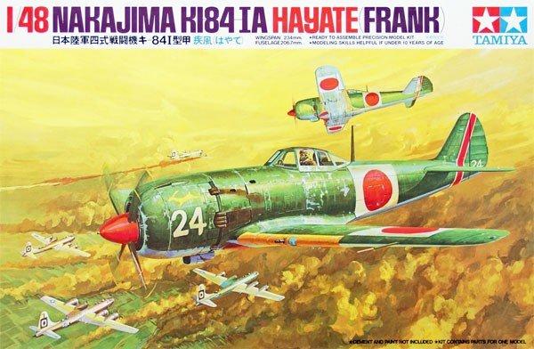 Tamiya 61013 Hayate (Frank) (1:48)