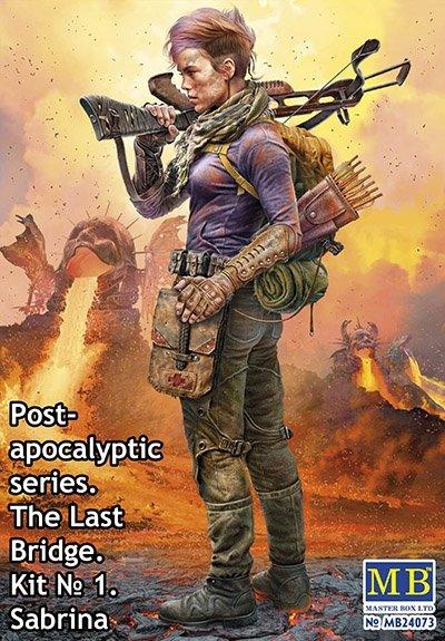 Master Box 24073 The Last Bridge #1 — Sabrina Pоst-apocalyptic Series 1/24