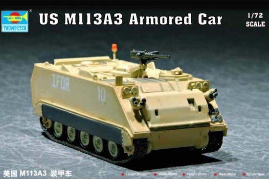 Trumpeter 07240 US M 113A3 Armored Car (1:72)