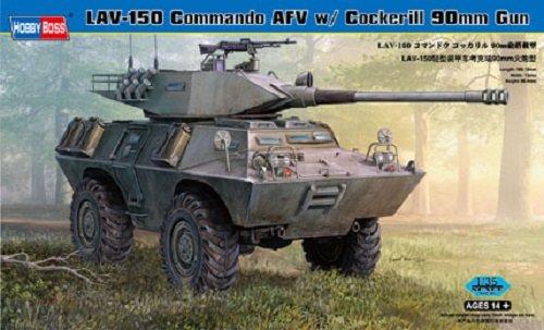Hobby Boss 82422 LAV-150 Commando AFV w/ Cockerill 90mm Gun (1:35)