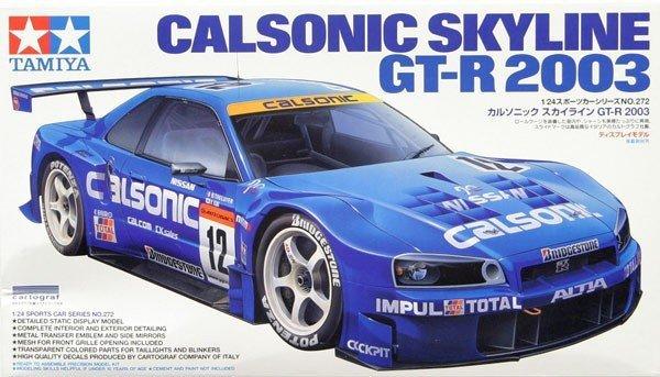 Tamiya 24272 Calsonic Skyline GT-R 2003 (1:24)