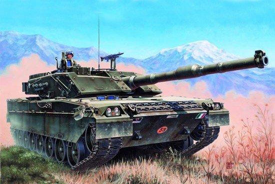 Trumpeter 00332 Italian C-1 Ariete MBT (1:35)