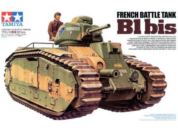 Tamiya 35282 French Battle Tank B1 bis (1:35)