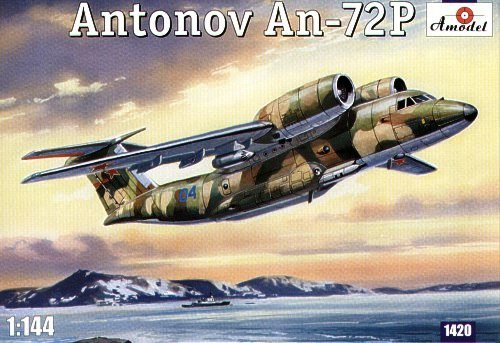 A-Model 01420 Antonov An-72P Jet Transport Aircraft (1:144)