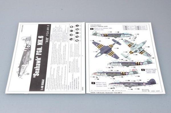 Trumpeter 02826 Seahawk FGA.MK.6 (1:48)