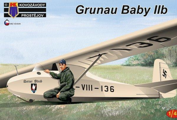 Kovozavody Prostejov KPM4813 Grunau Baby IIb 1/48