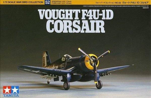 Tamiya 60752 Vought F4U-1D Corsair 1/72