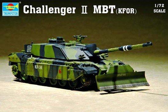 Trumpeter 07216 Challenger II MBT KFOR (1:72)