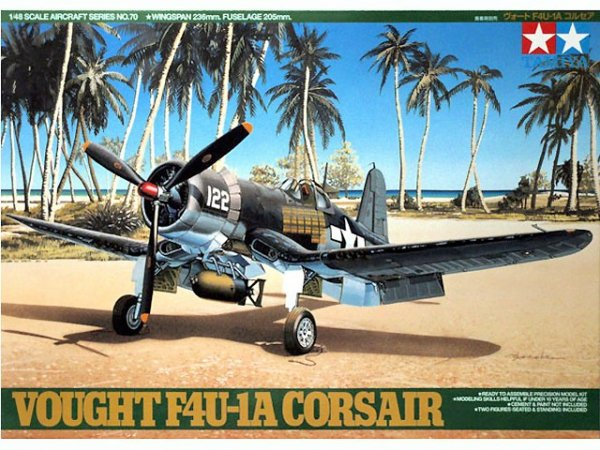Tamiya 61070 Vought F4U-1A Corsair (1:48)