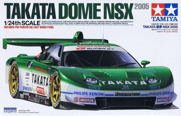 Tamiya 24291 Takata Dome NSX 2005 (1:24)