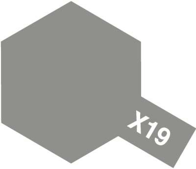 Tamiya X19 Smoke (81519) Acrylic paint 10ml