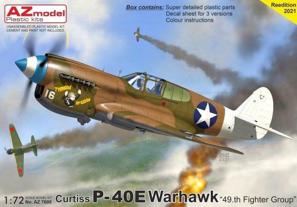 "AZ Model AZ7695 P-40E Warhawk ""49.th FG 1/72"
