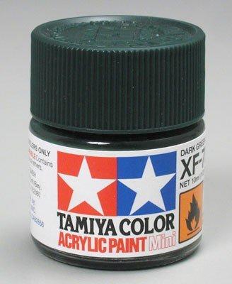Tamiya XF70 Dark Green 2 (81770) Acrylic paint 10ml