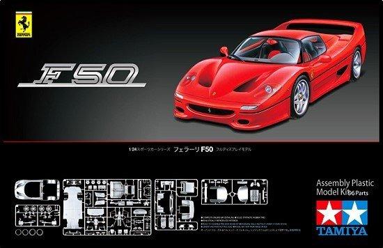Tamiya 24296 Ferrari F50 (1:24)